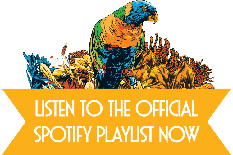 Listen to the official Spotify Playlist Now