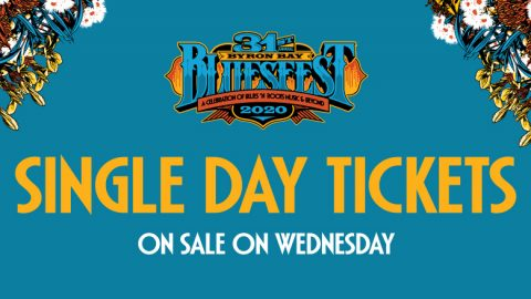 Single Day Tickets On-Sale 10am Wed 23 Oct
