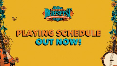 Playing Schedule Out Now! Download Bluesfest App