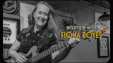 Bluesfest takes 5 with Fiona Boyes