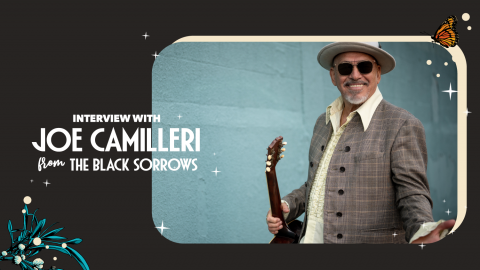 Catching up with Joe Camilleri from The Black Sorrows