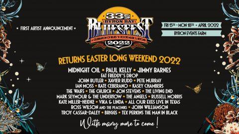 Bluesfest returns Easter Long Weekend 2022!