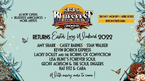 As NSW opens, Bluesfest announces more artists!